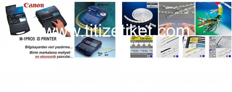 CANON Kablo Markalama ve Pano içi Etiketleme (satış ve servis hizmetleri)