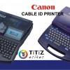 CANON kablo markalama yazıcı modelleri